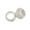 SS.925 Bead Spacer Smooth 5mm - 2.60mm Large Hole